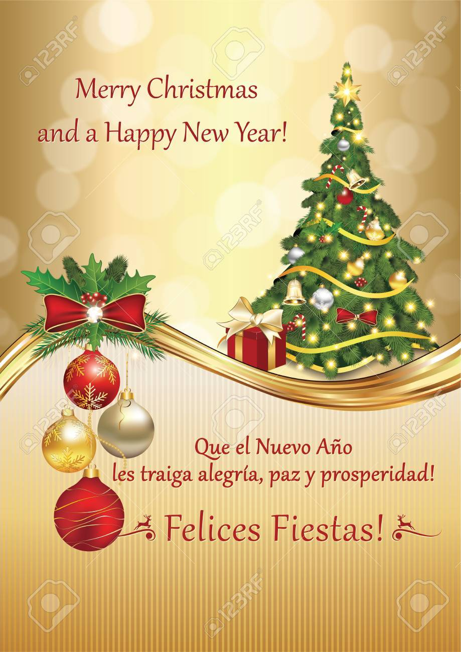 Spanish greeting card may the new year bring you peace joy spanish greeting card may the new year bring you peace joy and prosperity kristyandbryce Image collections