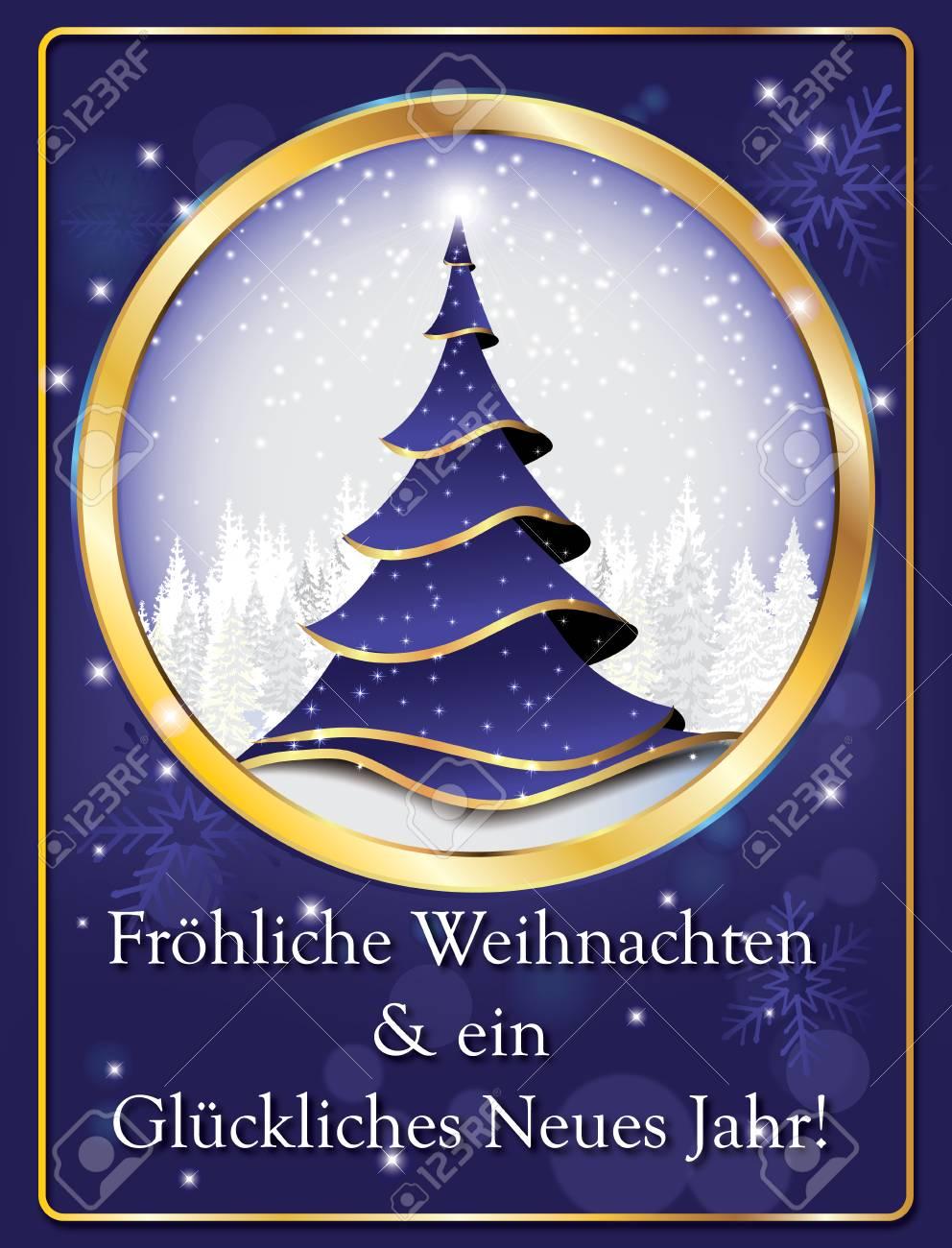 Elegante Purpurrote Grußkarte Für Das Neue Jahr Mit Text In Der ...