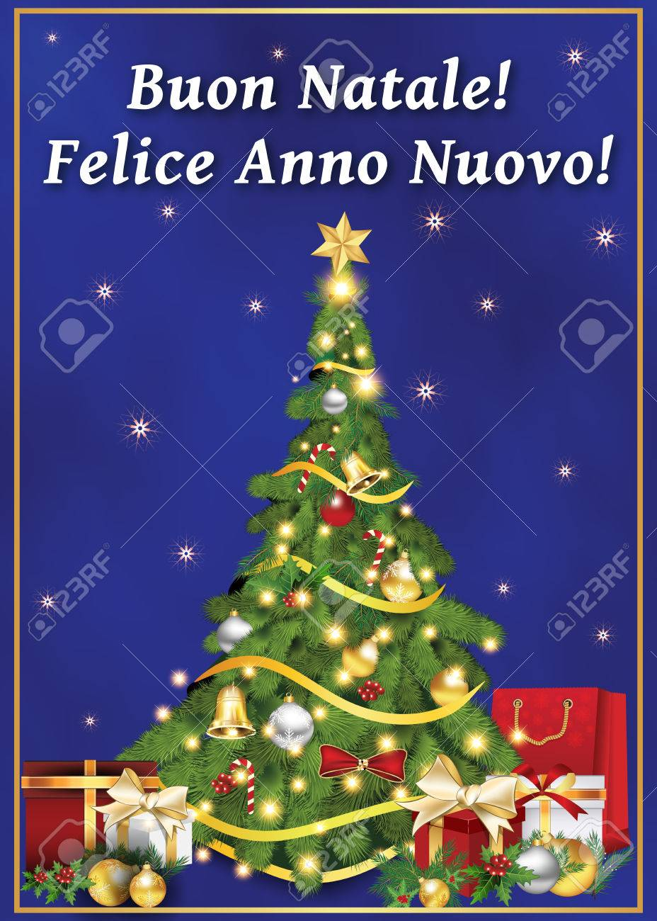 Buon Natale E Felice Anno Nuovo! - Neujahrswünsche In Der ...