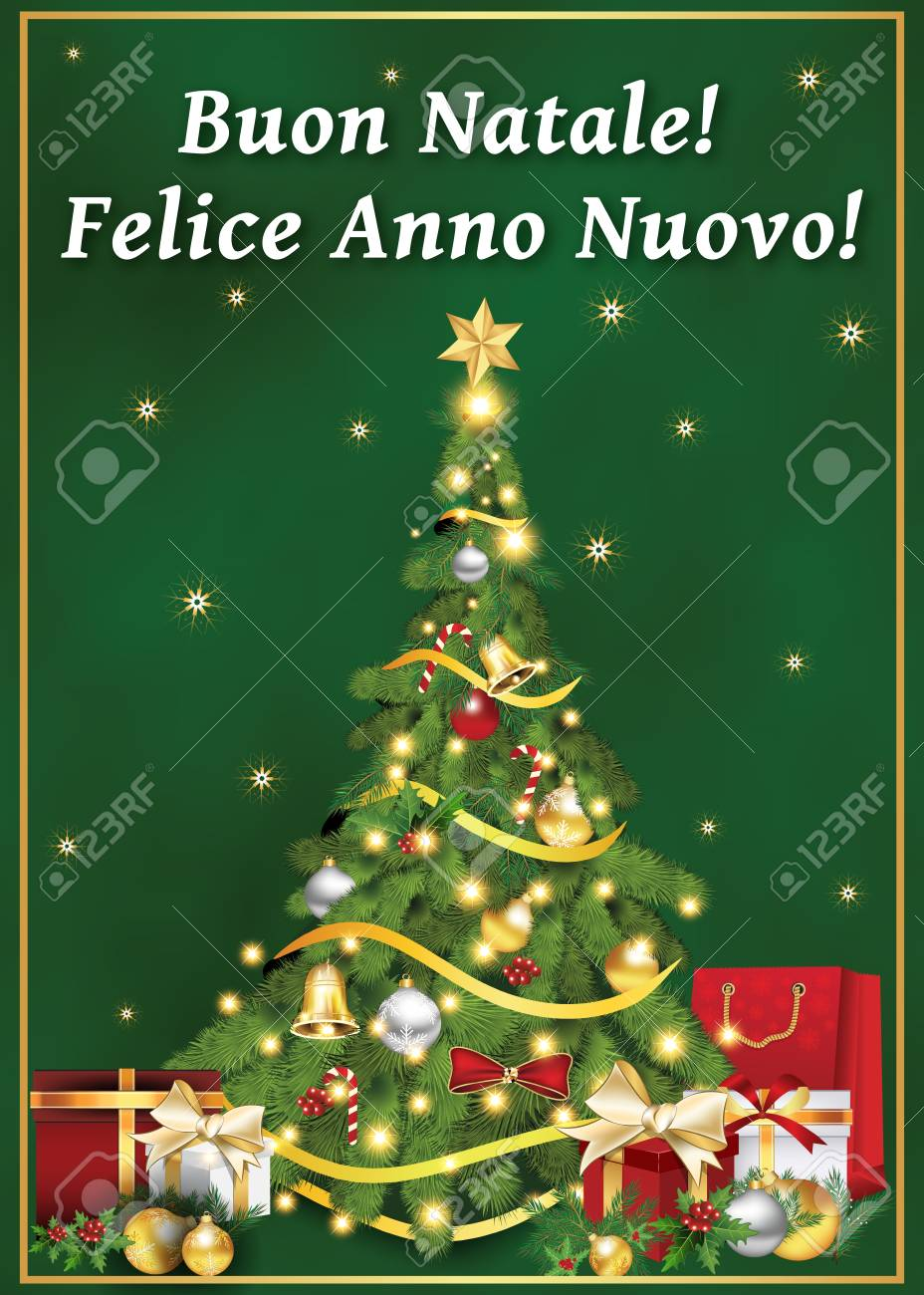 Italian greeting card for winter holiday text translation merry italian greeting card for winter holiday text translation merry christmas and happy new year m4hsunfo