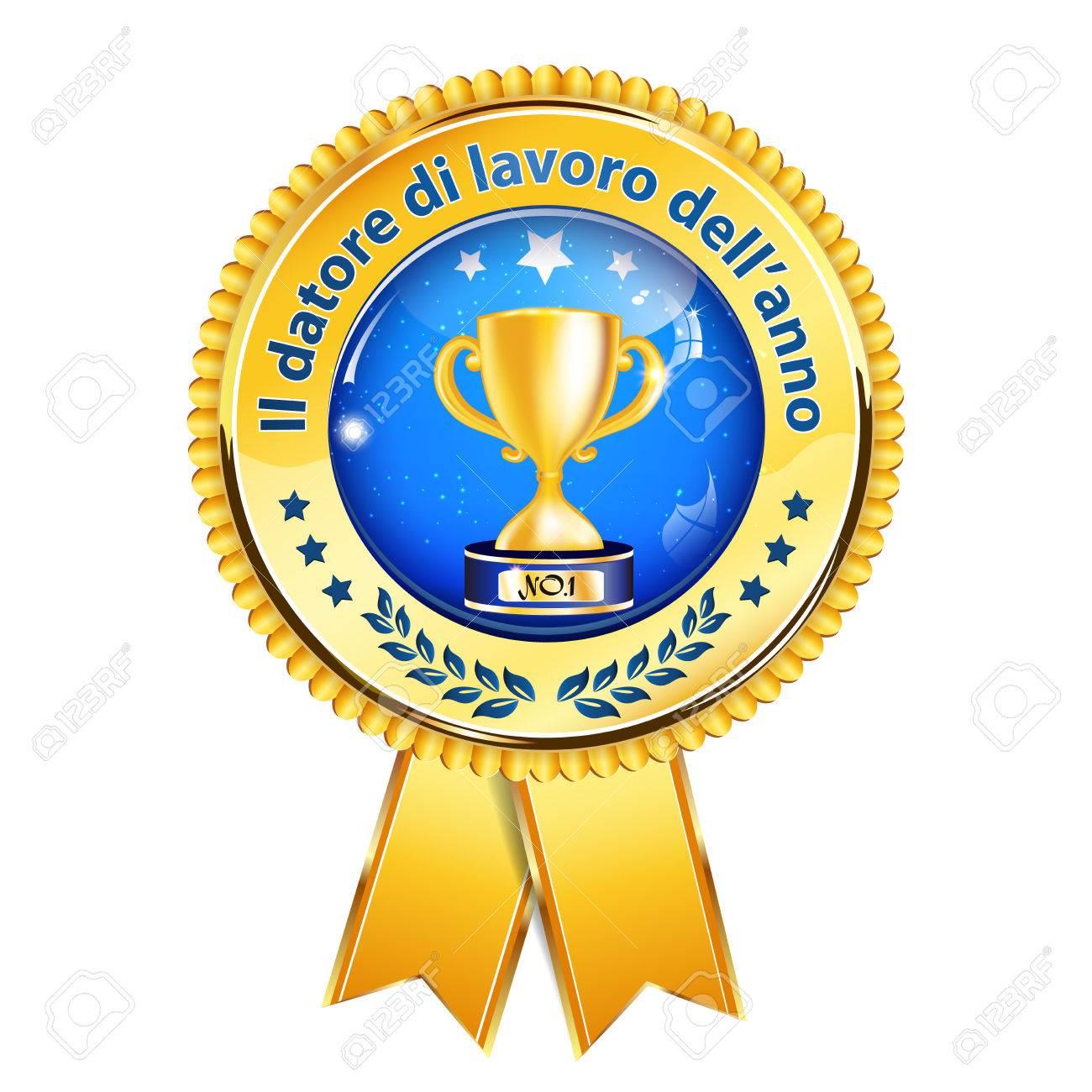 Employer Of The Year In Italian Language Datore Di Lavoro Dellanno