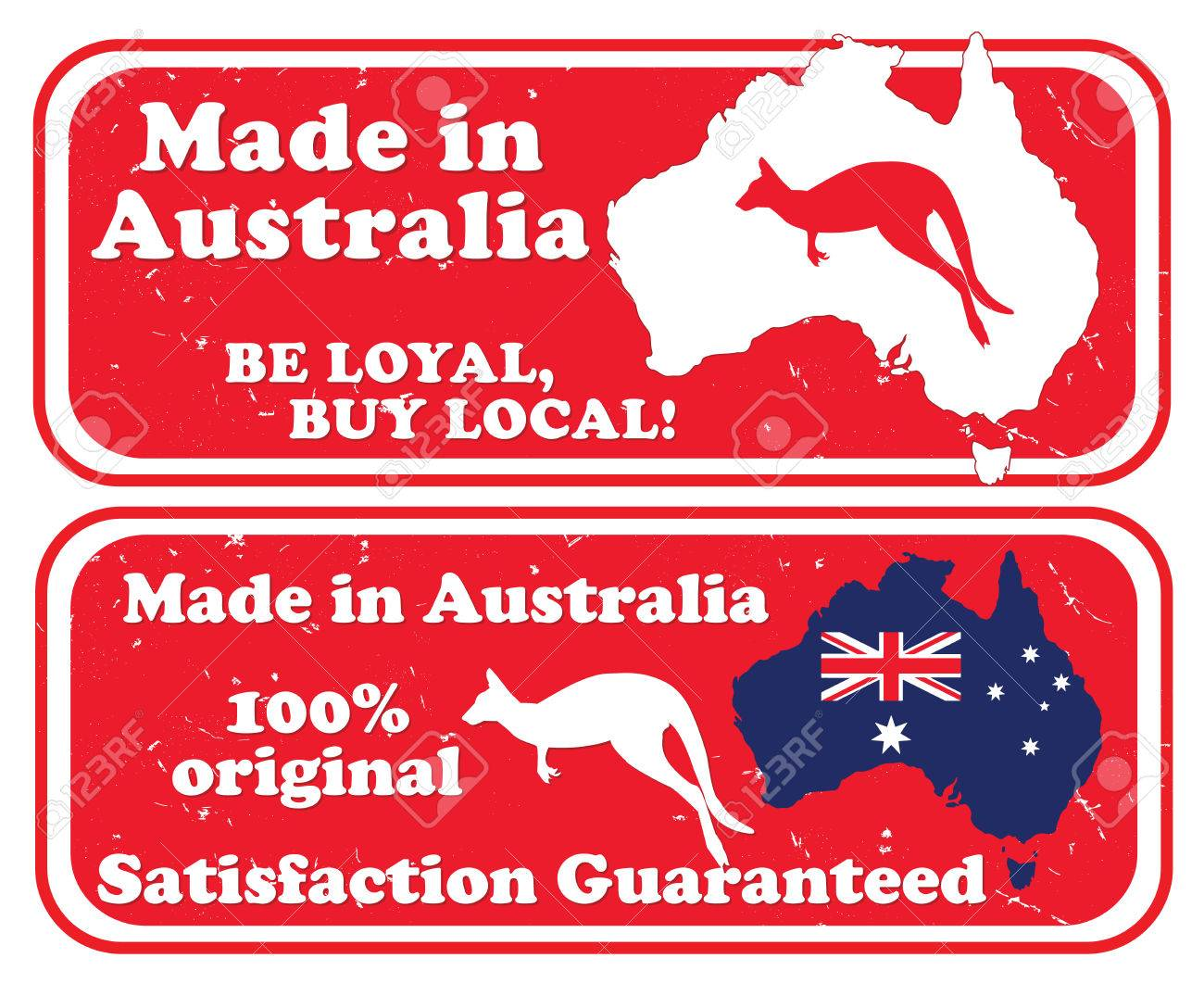 photo about Stamps Printable named Developed within Australia, Be faithful acquire neighborhood - grunge printable stamps