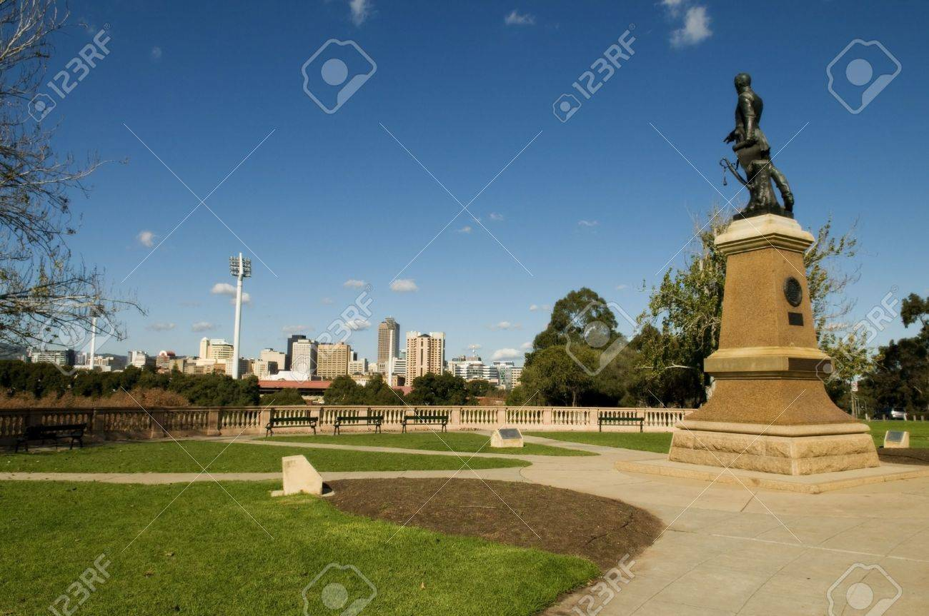 View of part of the adelaide skyline Stock Photo - 10483422