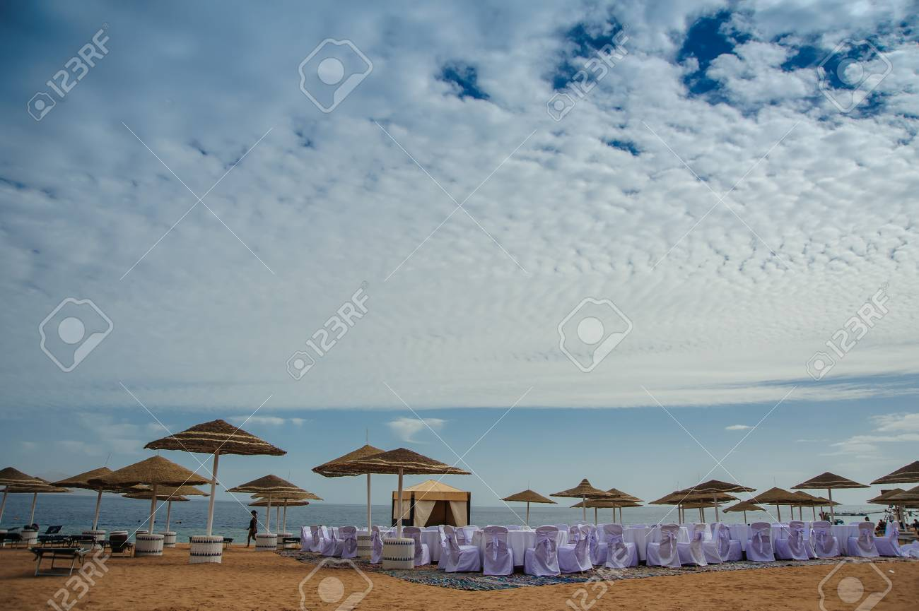 Red sea egypt vacaion sand blue sky wedding decoration stock photo red sea egypt vacaion sand blue sky wedding decoration stock photo 68731371 junglespirit Images