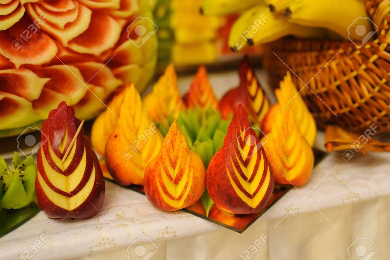 Obst Dekoration Schwan Dessert Hochzeit Schwan Schon