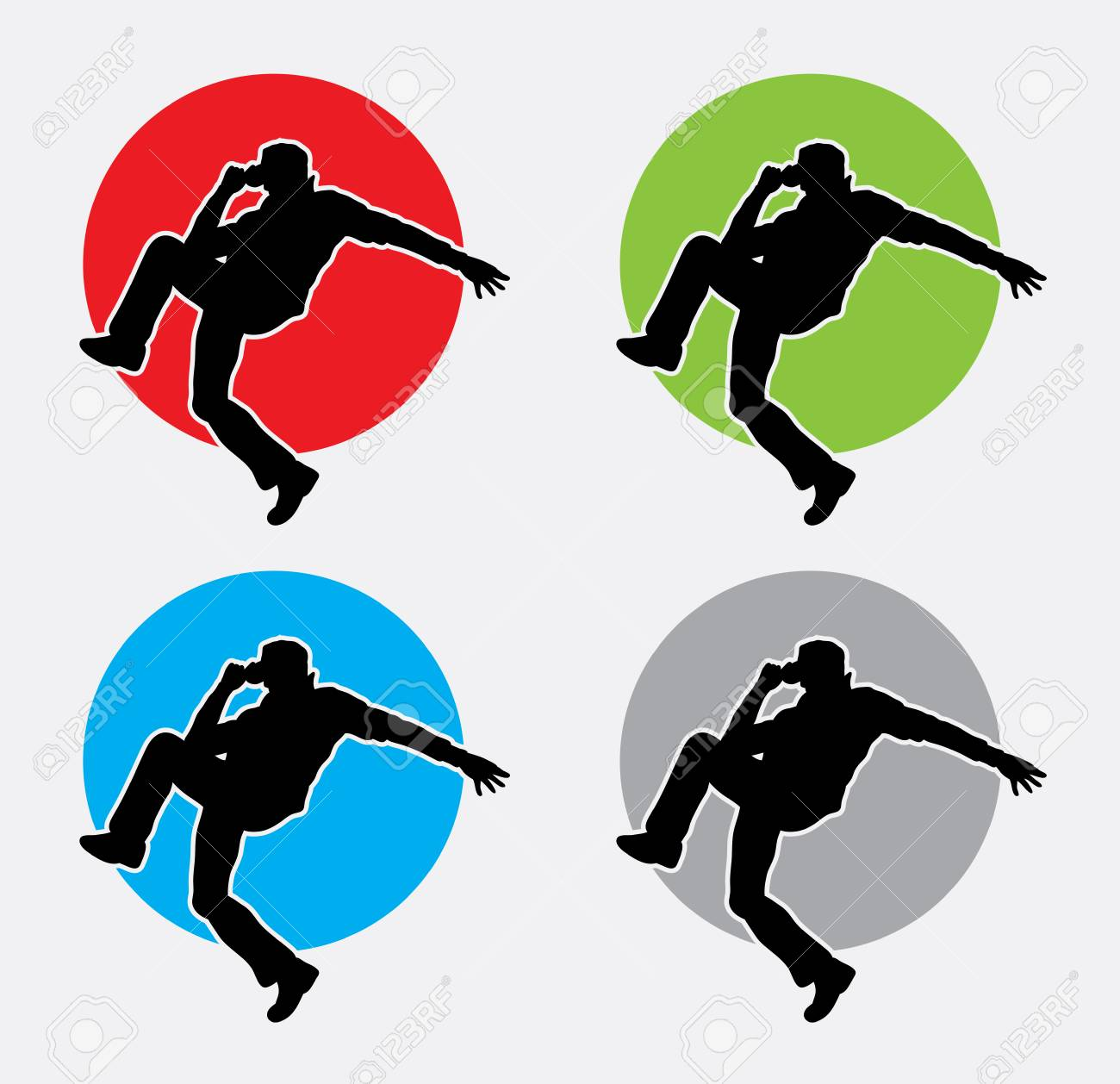 8de422f3760 The Dancer Silhouette. Good Use For Symbol, Web Icon, Or Any ...