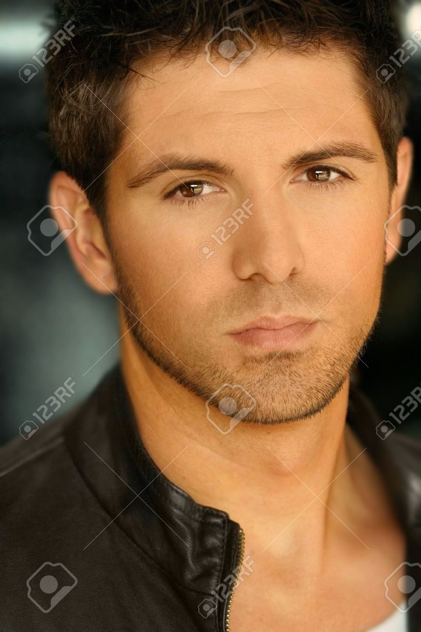 Close-up portrait of young good looking man Stock Photo - 3969096