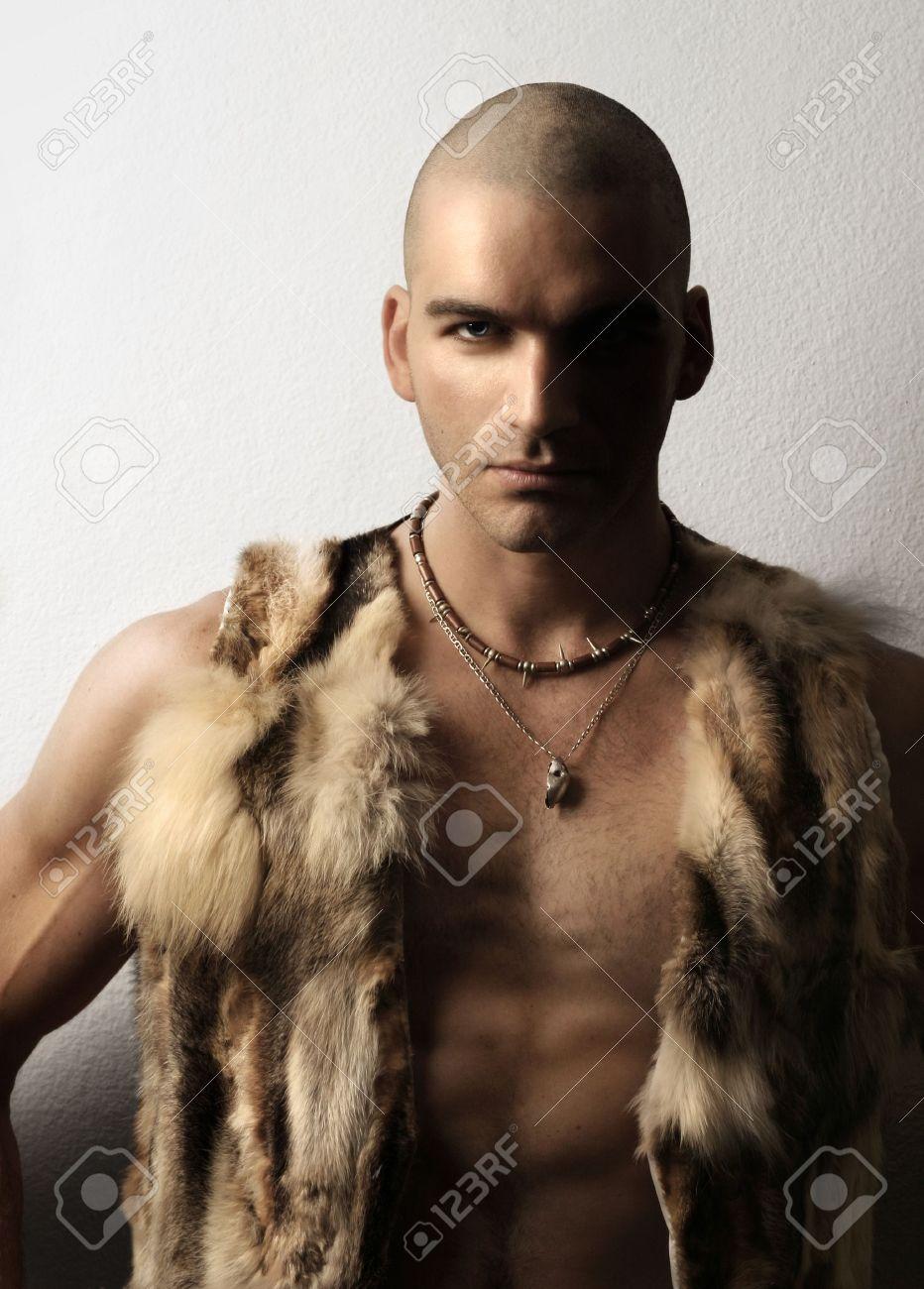 Shaved male models
