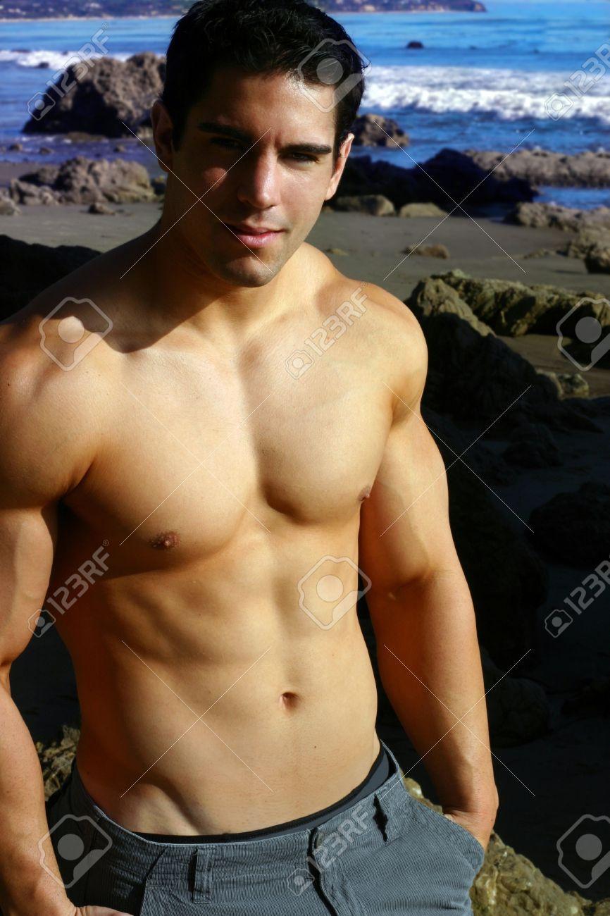 Heiße männliche Fitness-Modelle