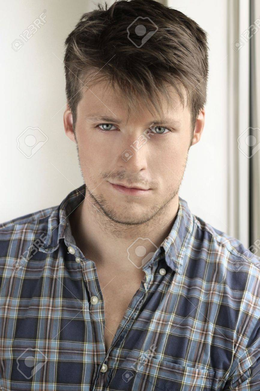 Portrait of a young attractive casual man Stock Photo - 15361848