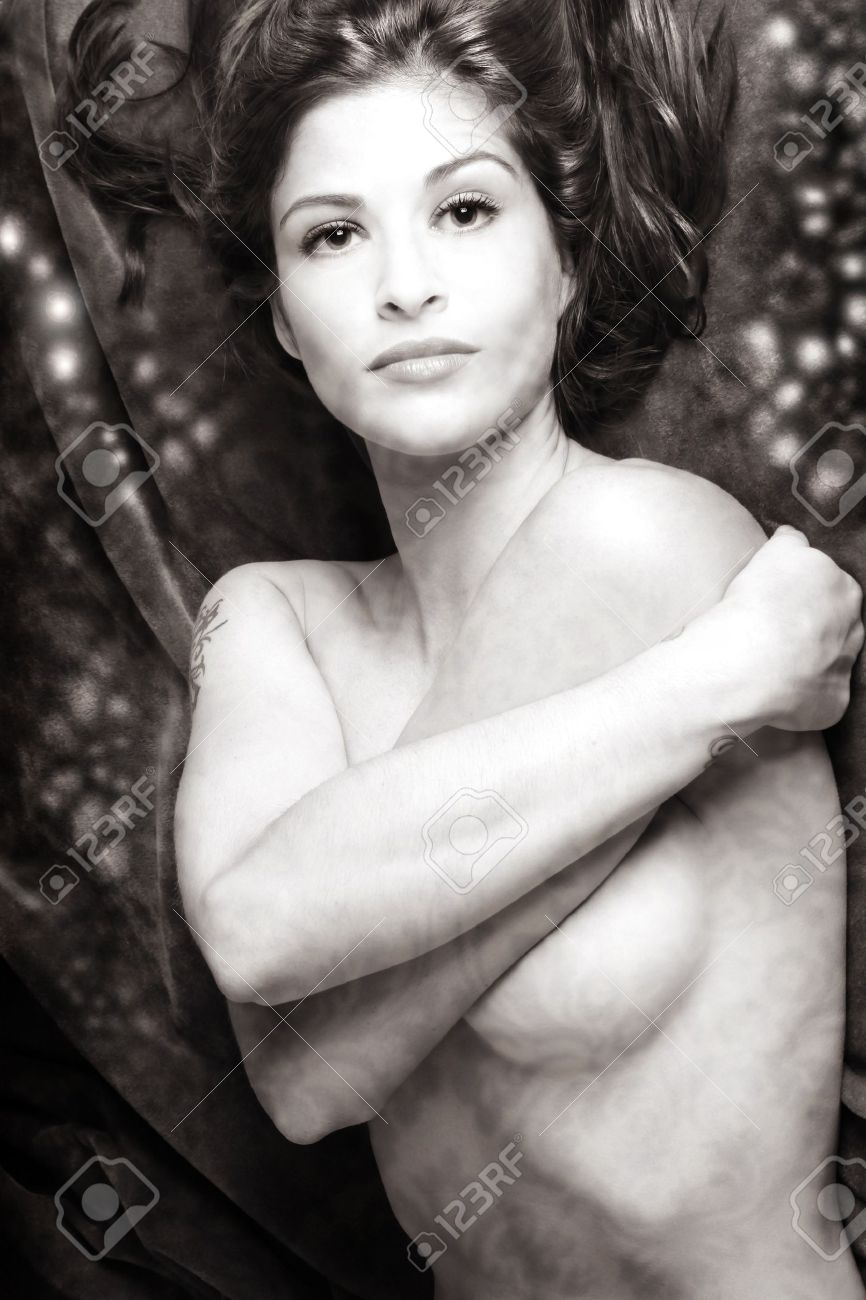 Erotic photography of nude woman