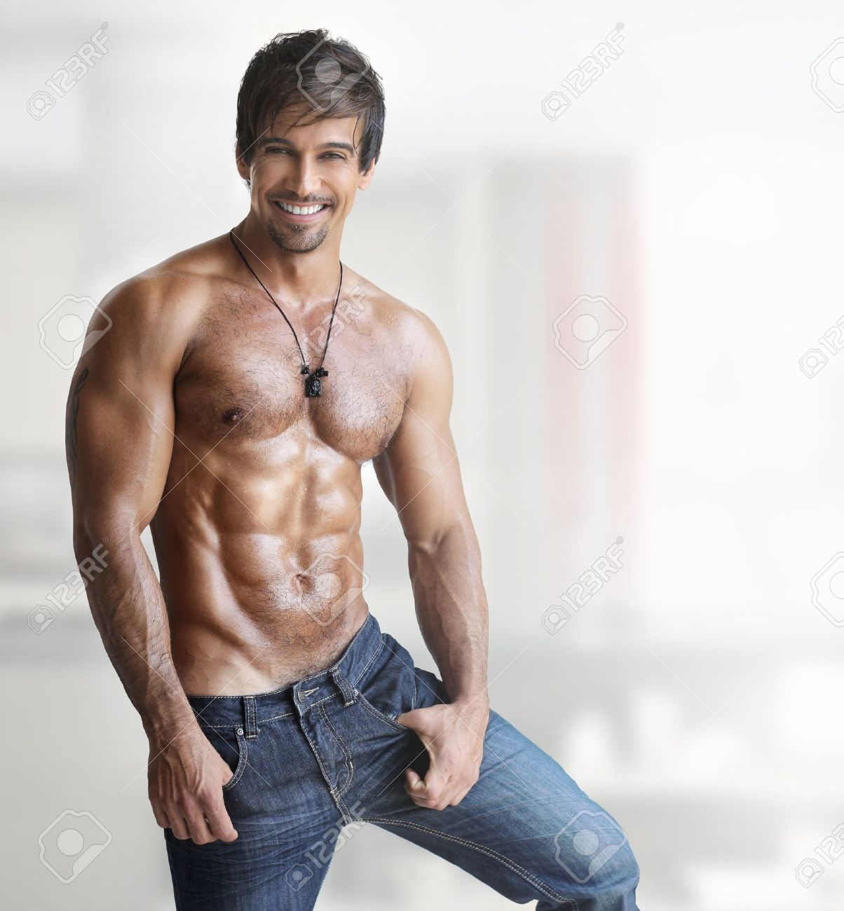 fotos de abdominales masculinos
