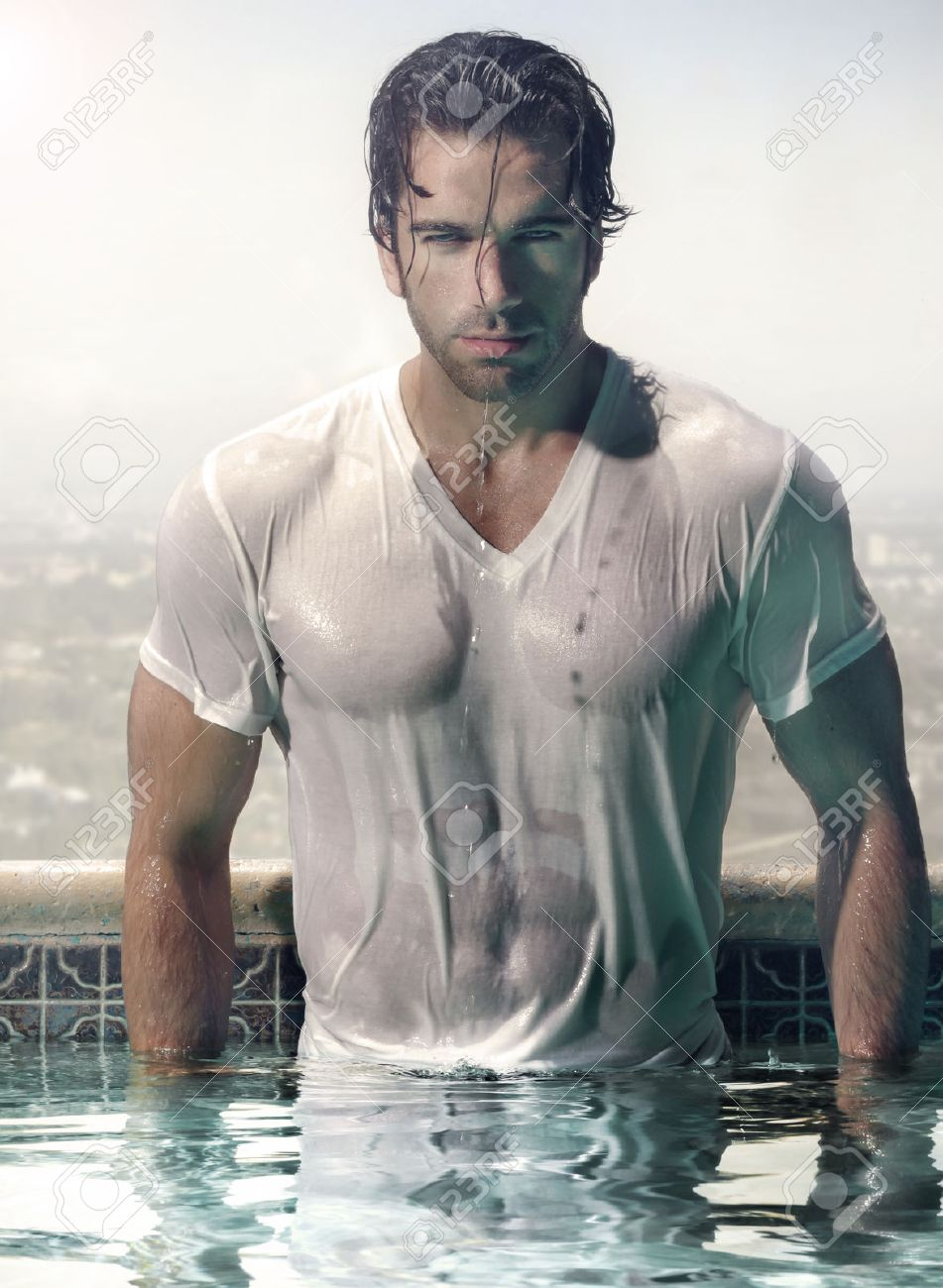 Wet male photos 14