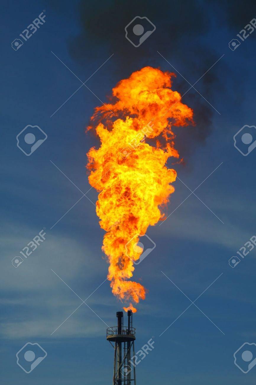 Burned flare Stock Photo - 9609090