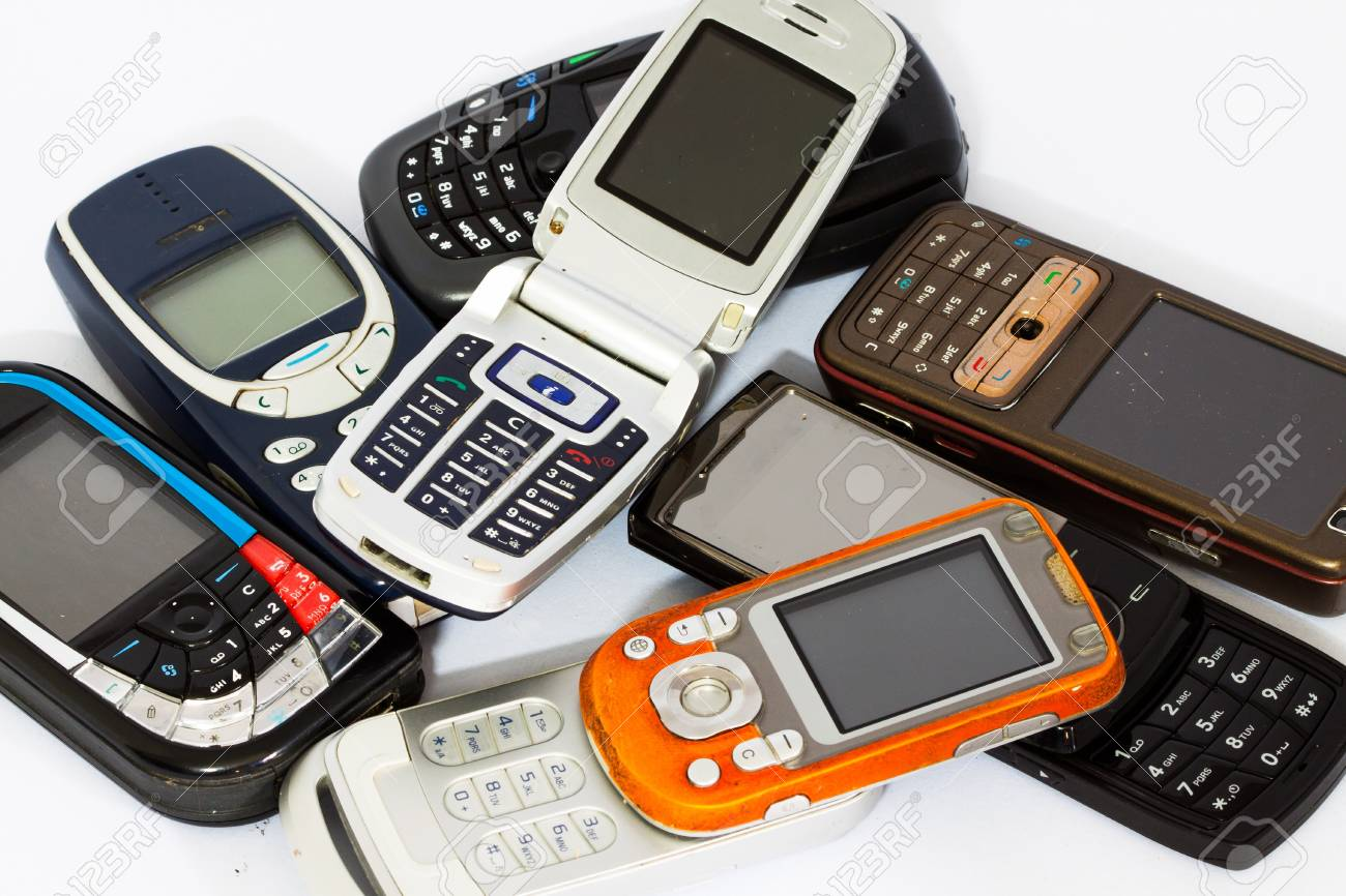 cellphone or mobile phone Stock Photo - 21648313