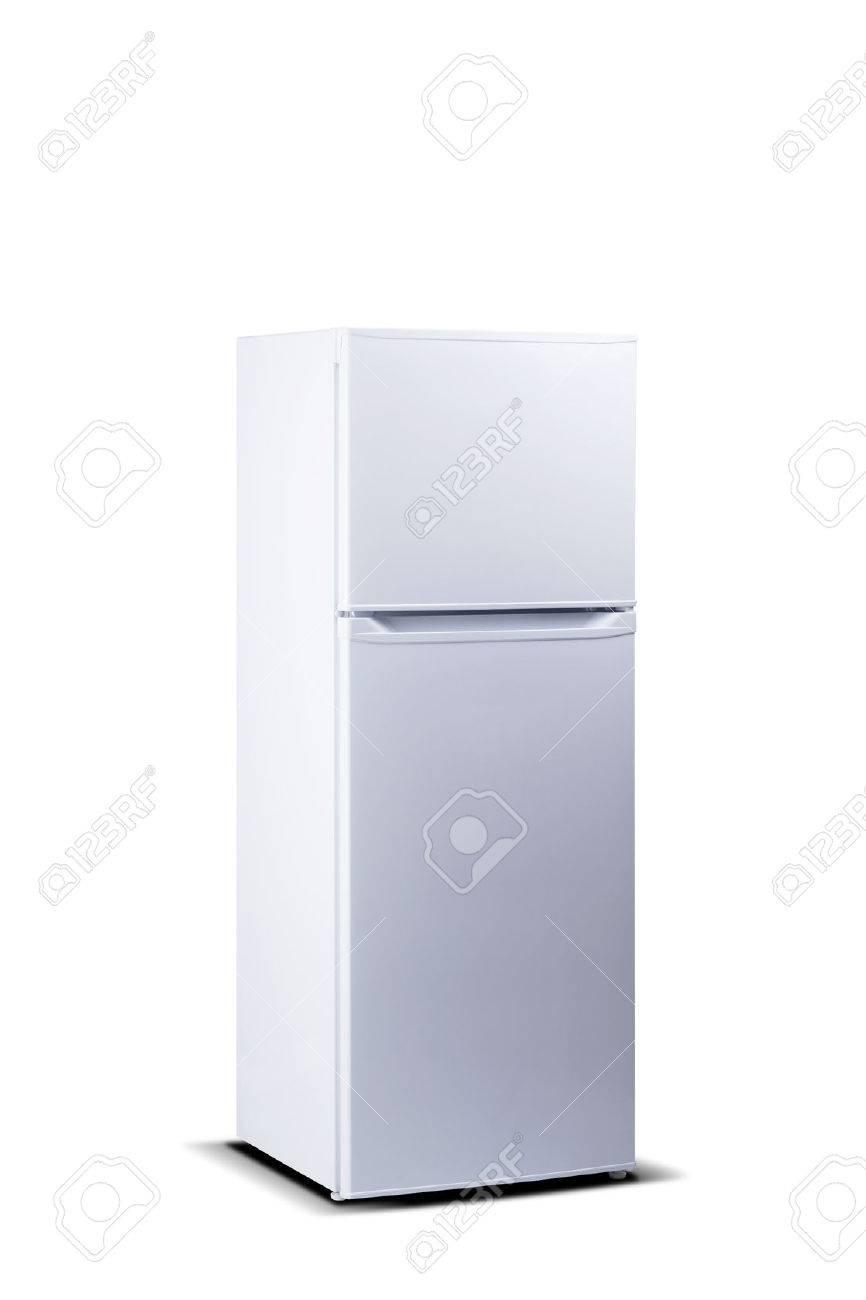Weiß Kühlschrank. Top Gefrierschrank. Kleiner Kühlschrank Mit ...