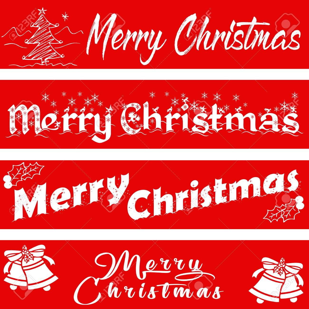 Merry christmas usable for banners greeting cards gifts etc usable for banners greeting cards gifts etc stock vector m4hsunfo