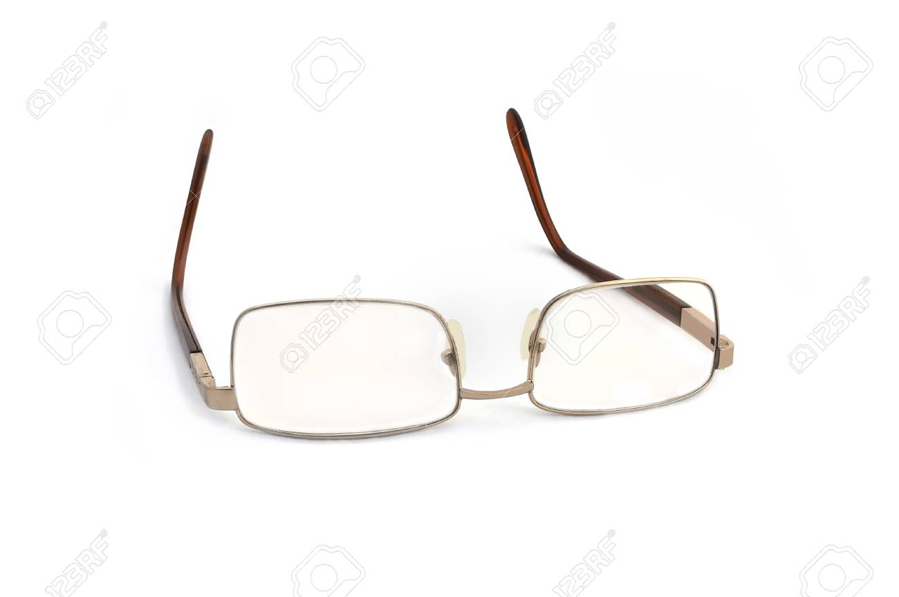 Glasses on white background. Stock Photo - 10320057