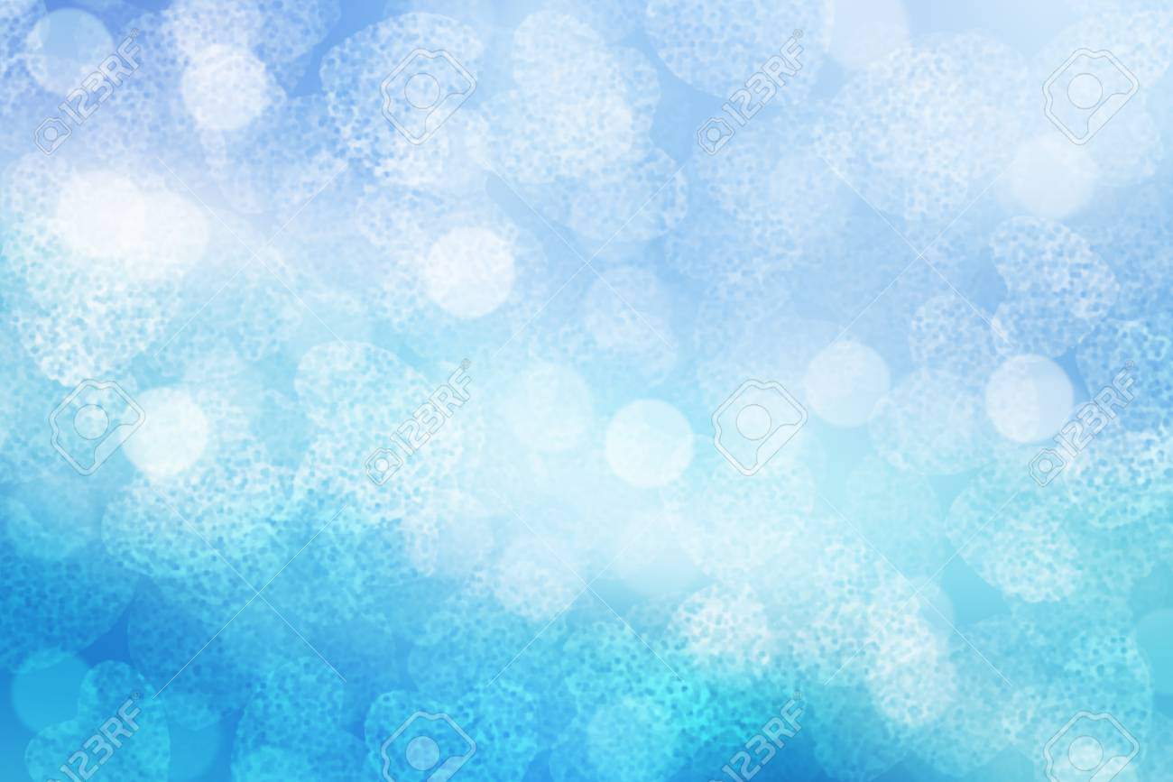 Blue Valentine Sparkle Bokeh Background Or Bokeh Wallpaper