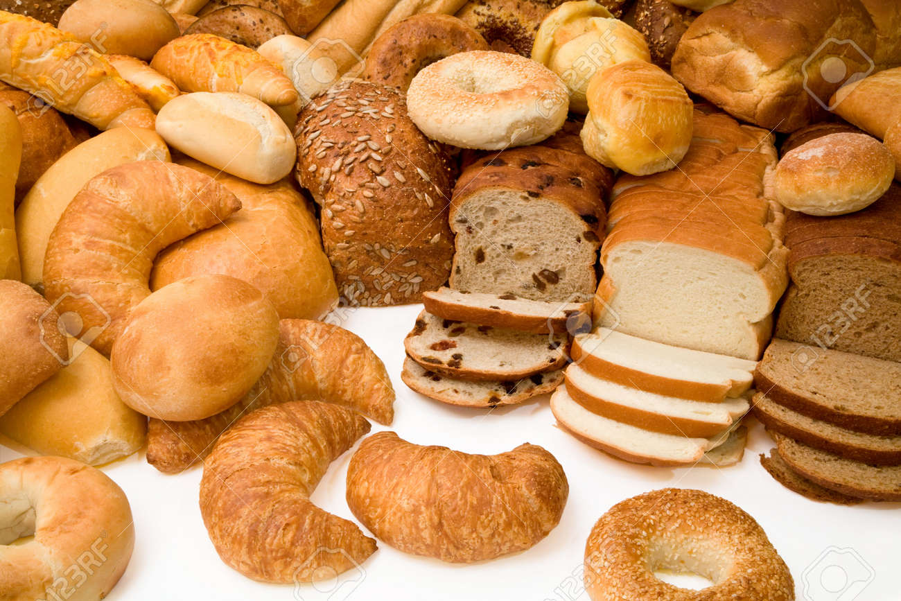 Image result for all types of bread pictures
