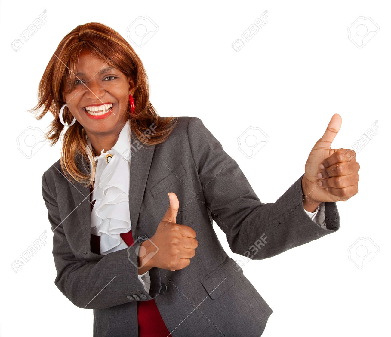 Two Thumbs Up Stock Photo - 18916137