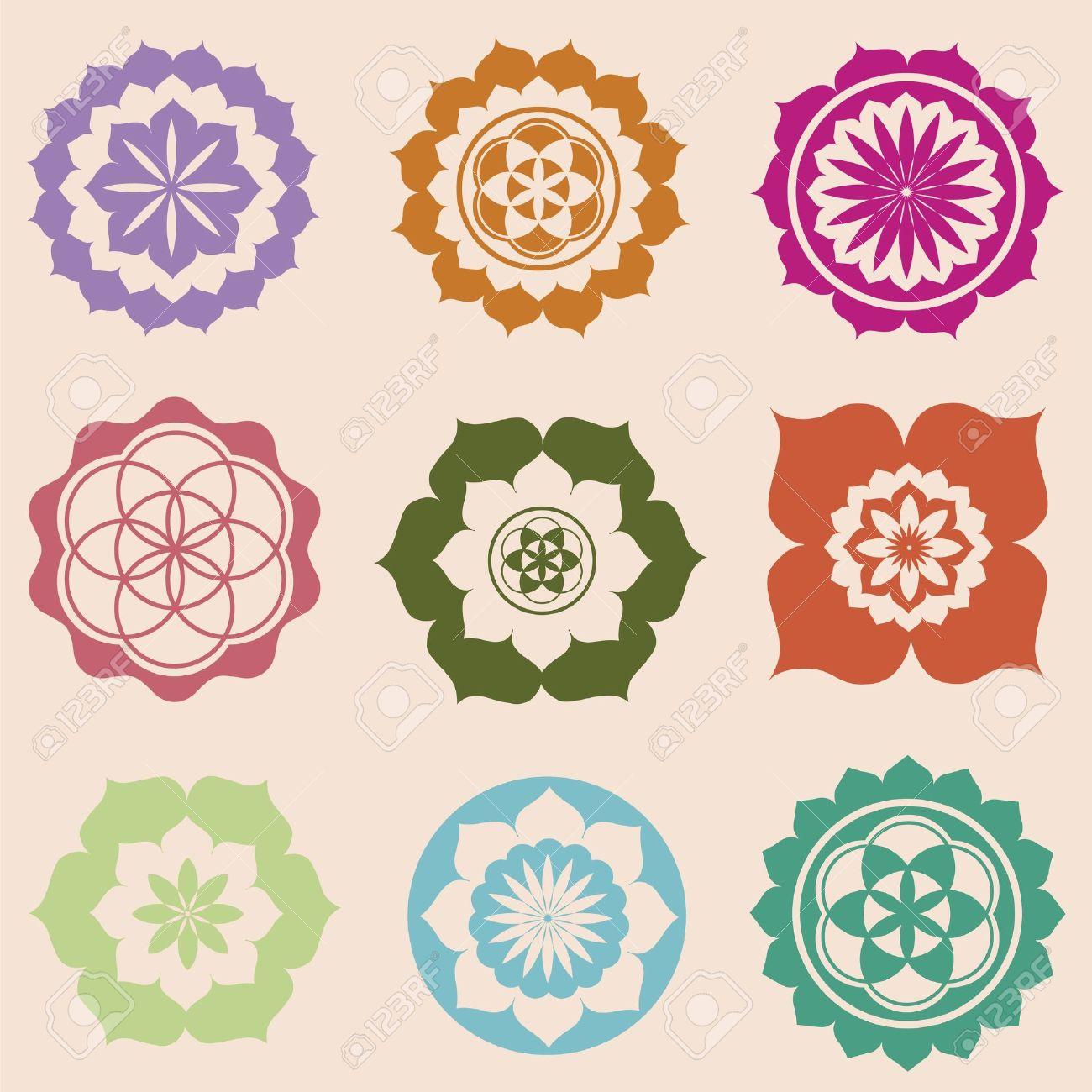 Floral Detailed Mandalas Buddhist Lotus Mandala Tattoo