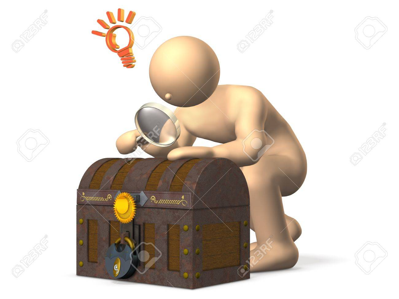 Archaeologists look at the antiquities, made a new discovery Stock Photo - 13866191