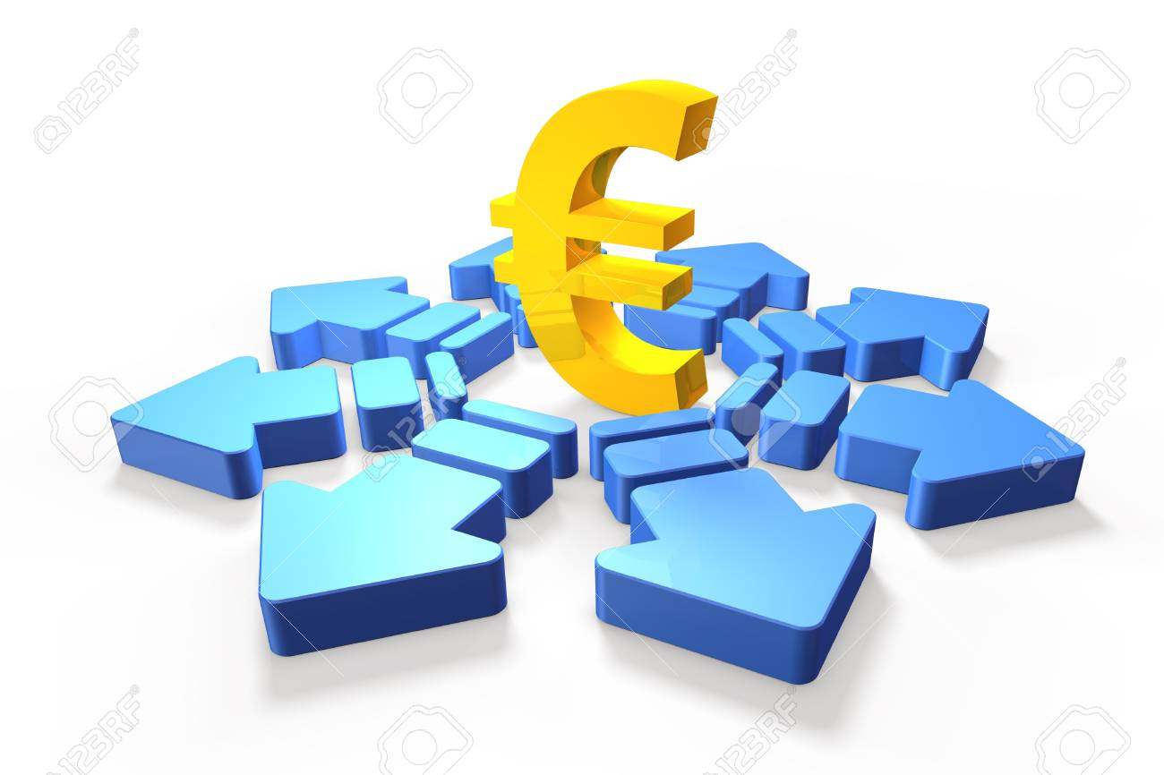 Economic future of the euro Stock Photo - 14059592
