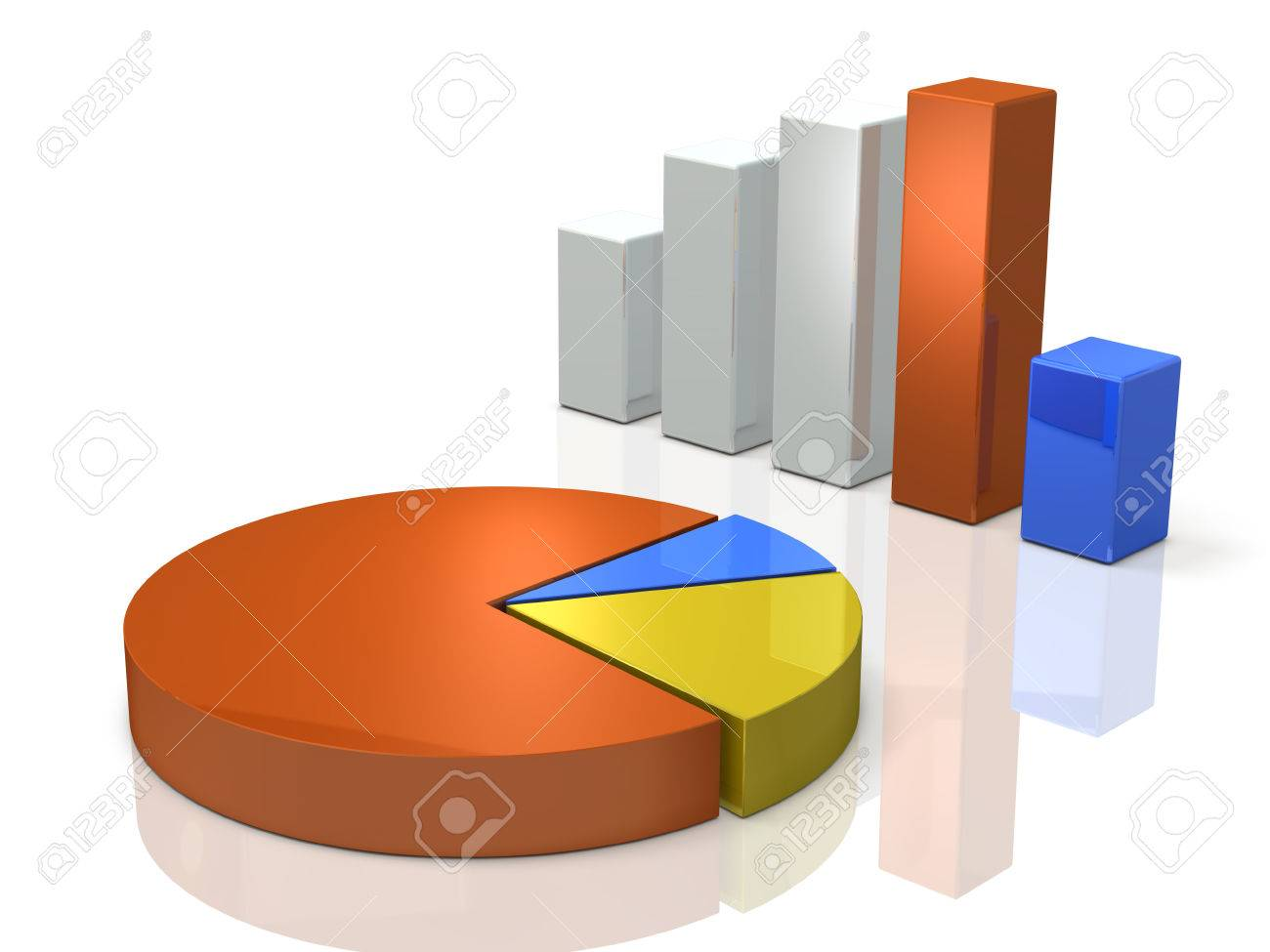 Bar graph and pie chart background image 3d illustration stock bar graph and pie chart background image 3d illustration stock illustration 65966050 nvjuhfo Choice Image