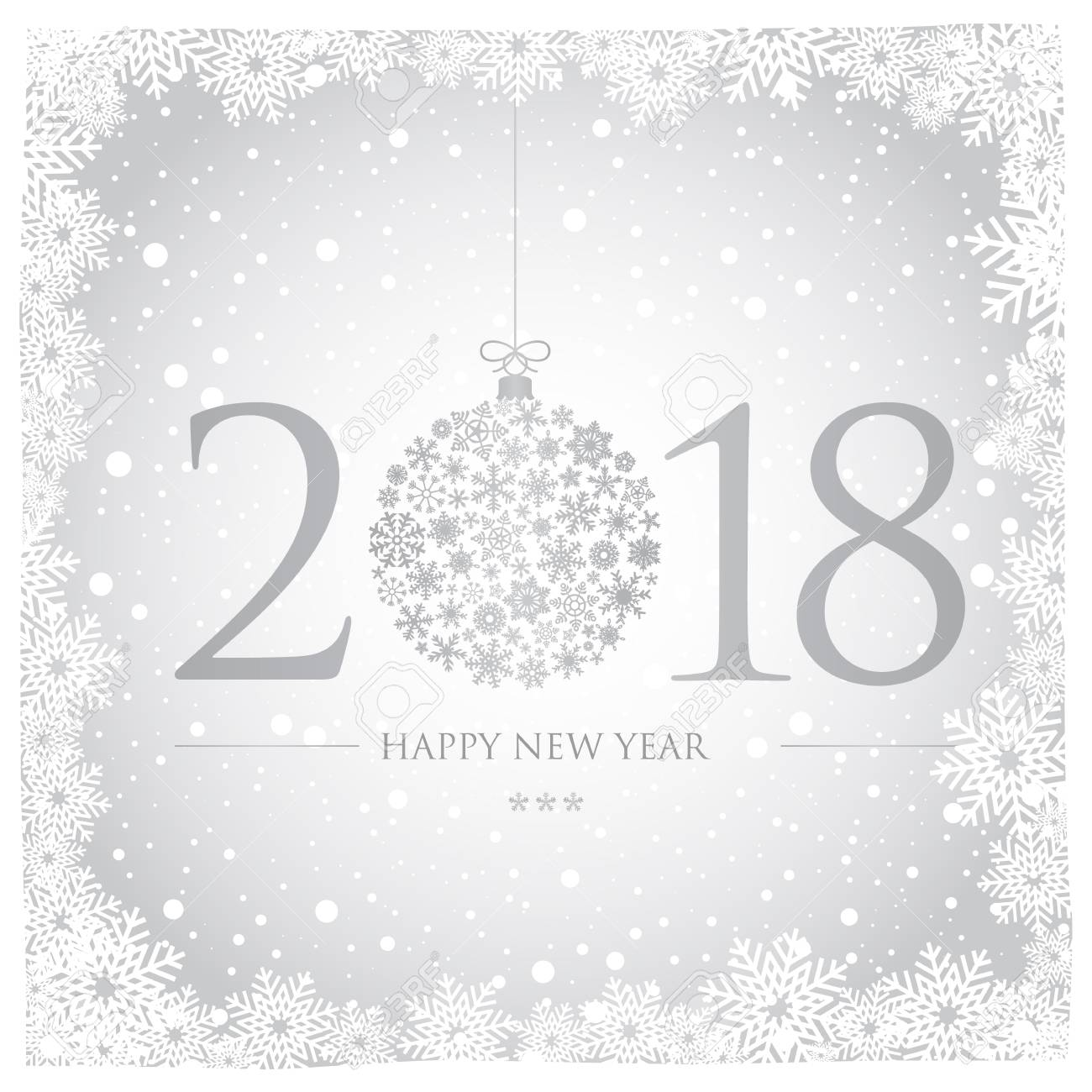 a beautiful new year card on a sparkly background stock vector 92312974