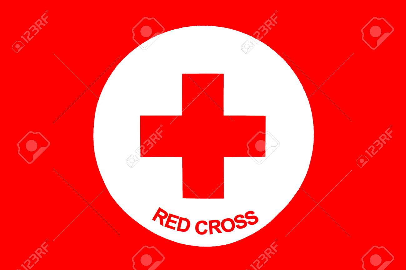 Sofia, Bulgarien - 20. April 2016: Rotes Kreuz-Symbol Mit Titeln ... | {Rotes kreuz symbol 38}