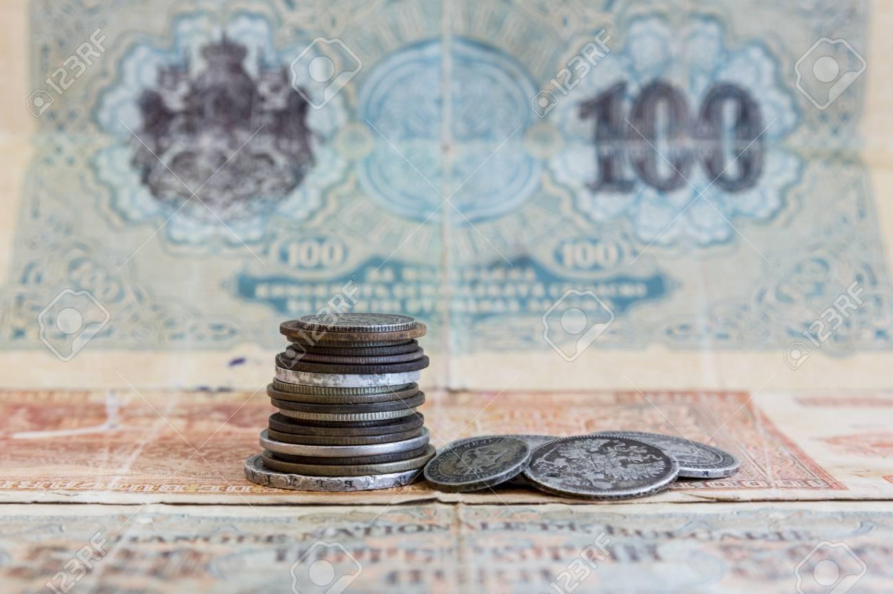 Silbermünzen Ussr Münzen Abgelaufene Bulgarische Banknoten Old