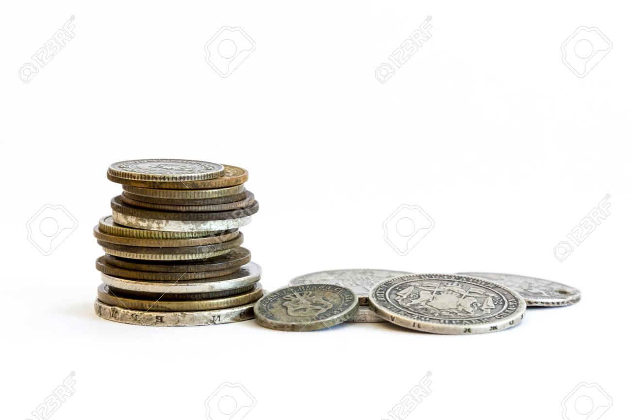 Silbermünzen Ussr Münzen Old Abgelaufen Geld Bulgarische Leva Und