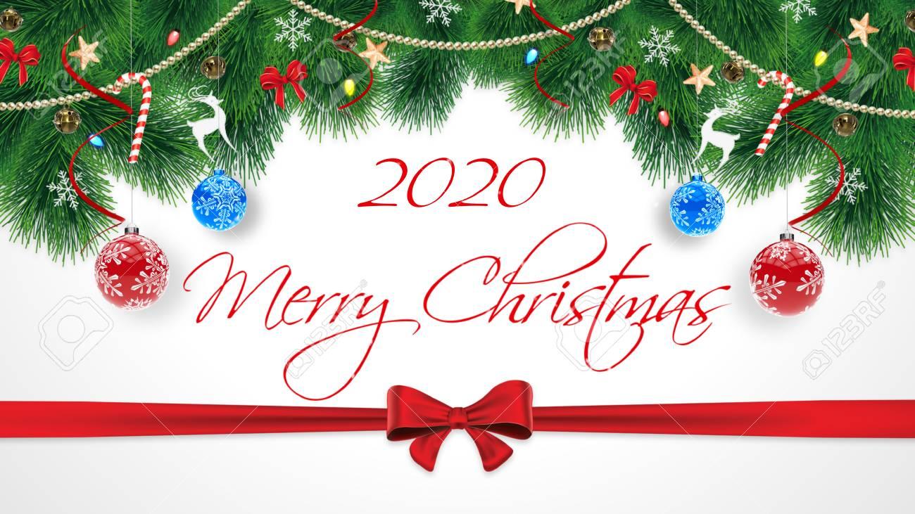 carte joyeux noel 2020 2020 Joyeux Noël. Carte de félicitations Merry Christmas original