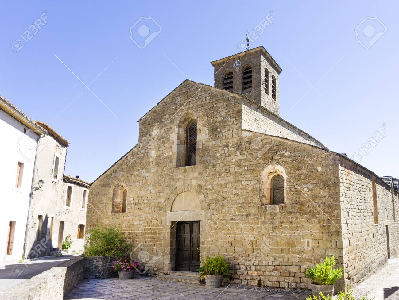 Church Of Escales Romanesque Architecture In Aude France