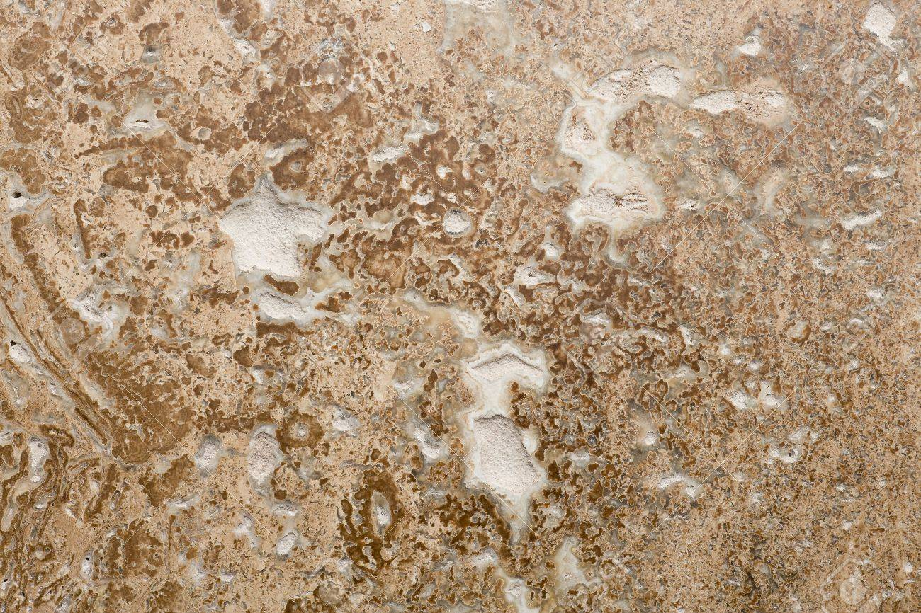 azulejos de piedra de travertino piso resumen closeup foto de archivo