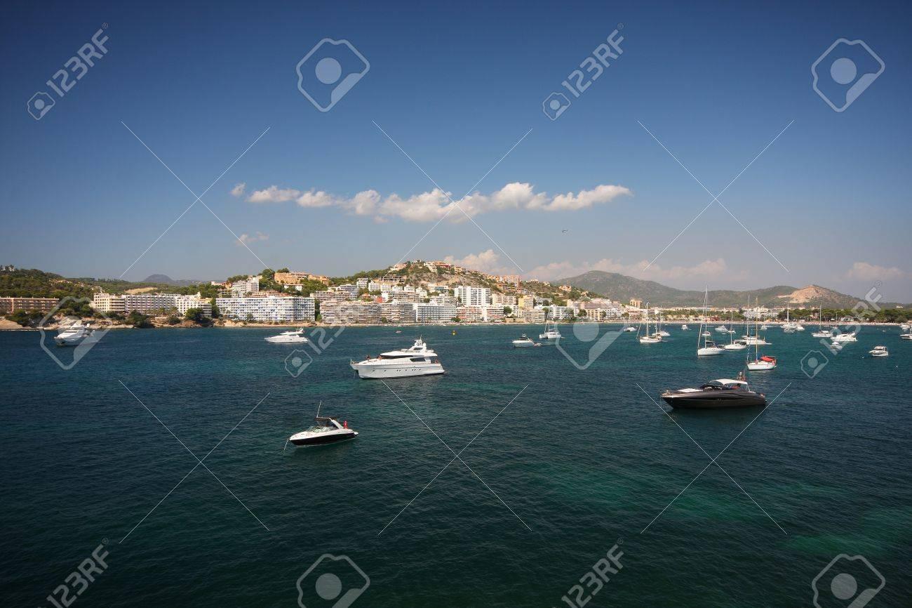 boats and sea - Santa Ponsa, Mallorca Stock Photo - 13328033