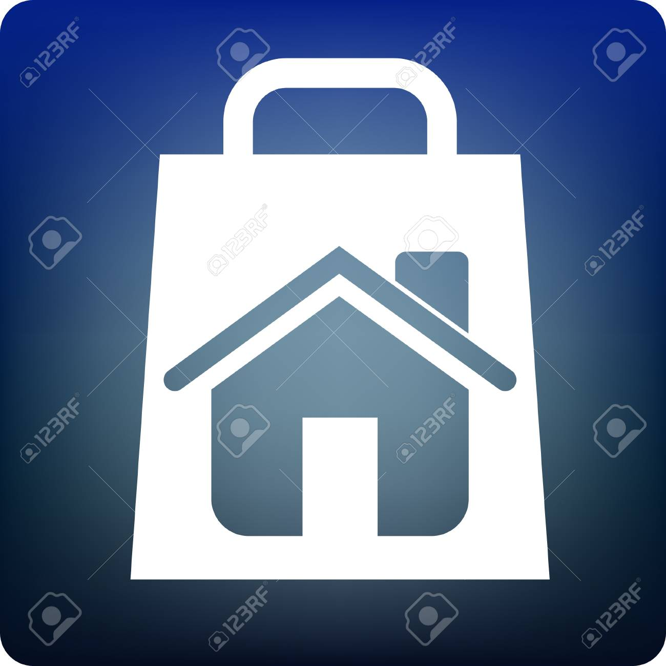 home shopping Stock Vector - 3311983