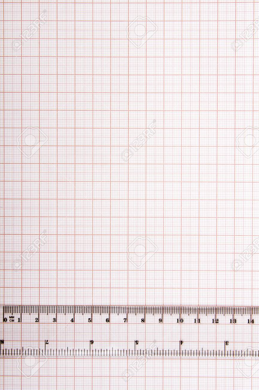 drawing tools on blue graph paper with copy space stock photo