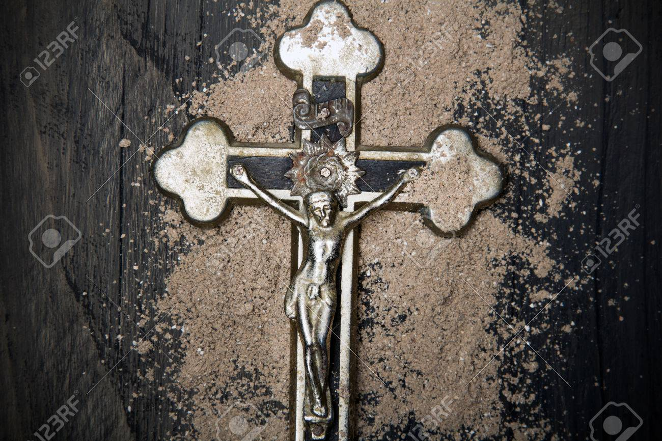 Cross and ash symbols of ash wednesday stock photo picture and cross and ash symbols of ash wednesday stock photo 72873030 buycottarizona Image collections