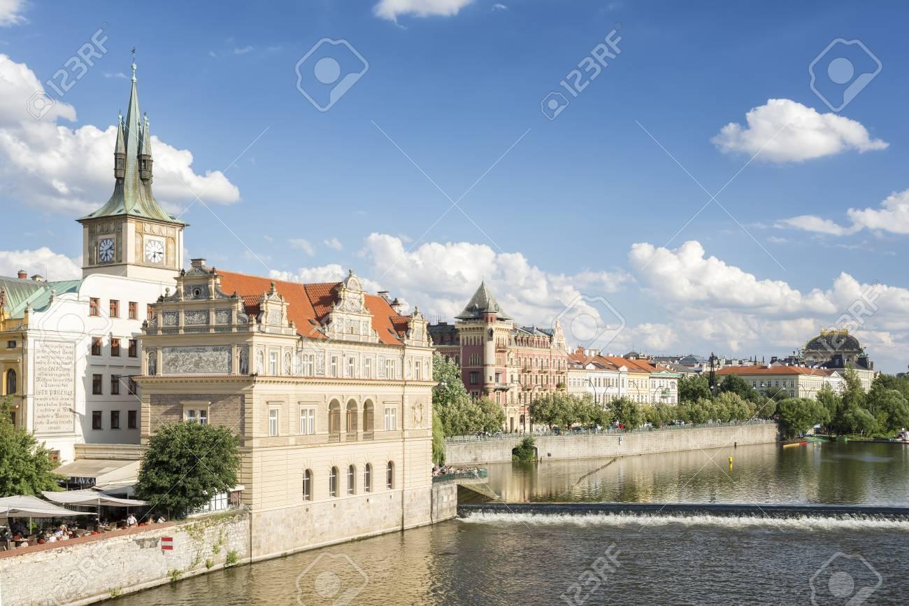 Exterior shot of Clock Tower and Bedrich Smetana Museum, a museum
