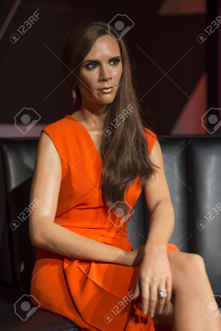 Wax Sculpture Of Victoria Beckham At Madame Tussauds Istanbul Stock Photo Picture And Royalty Free Image Image 92970459
