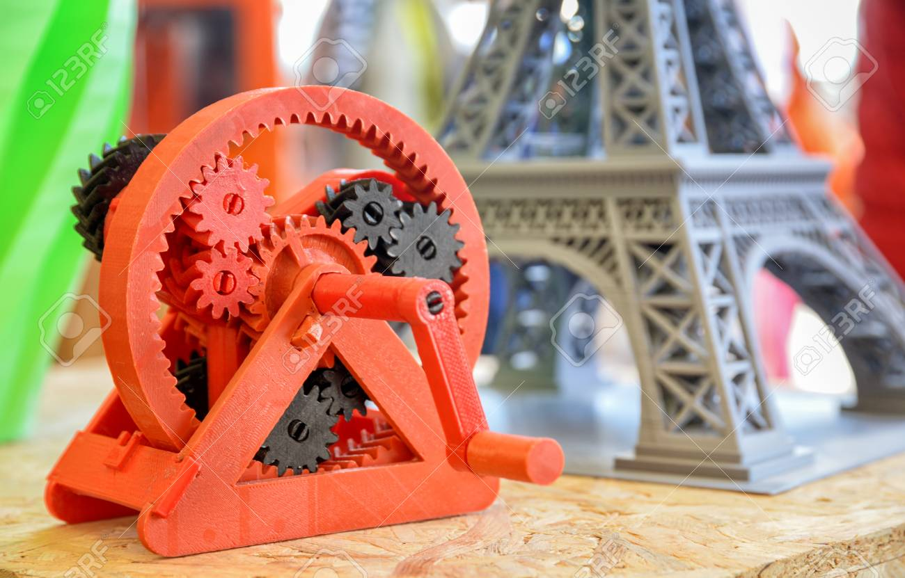 3d Printed Objects Stock Photo Picture And Royalty Free Image Image 108868964