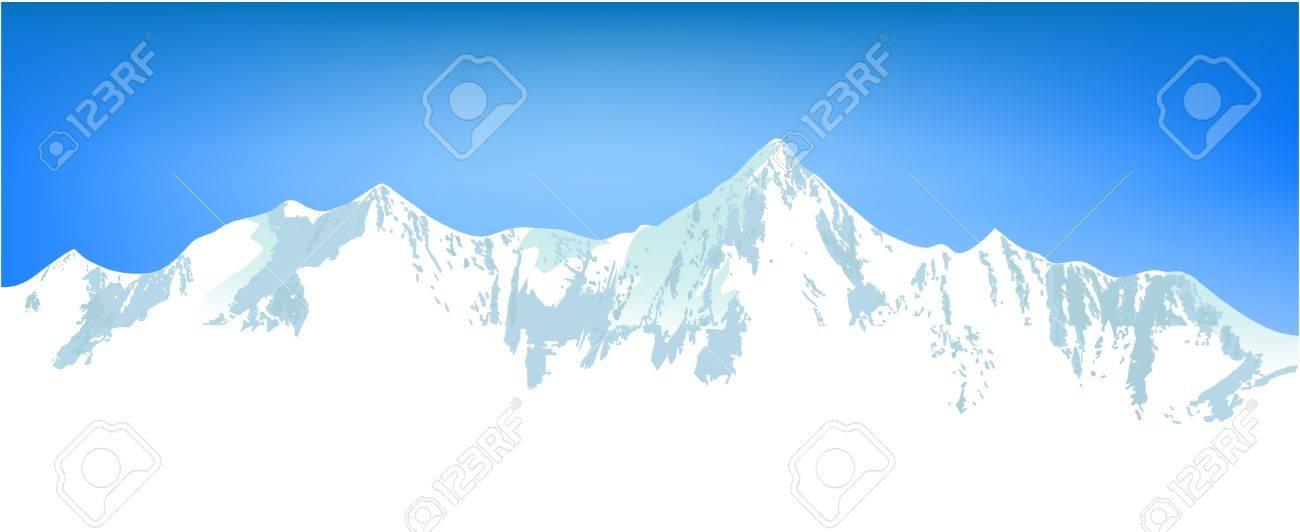 Winter mountains Stock Vector - 14477211
