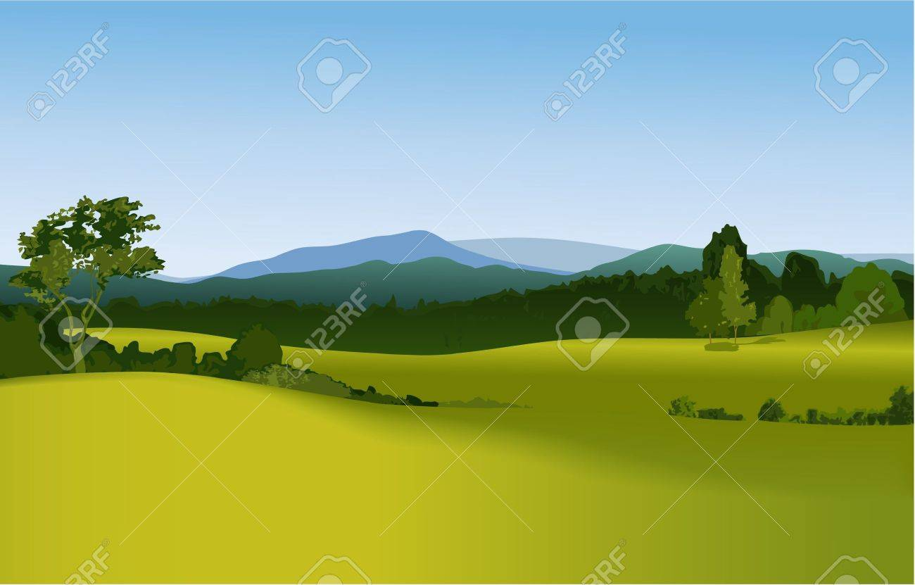 Mountain landscape - 14477235