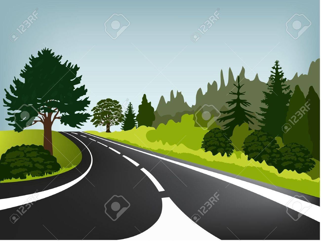 Road Stock Vector - 14765632