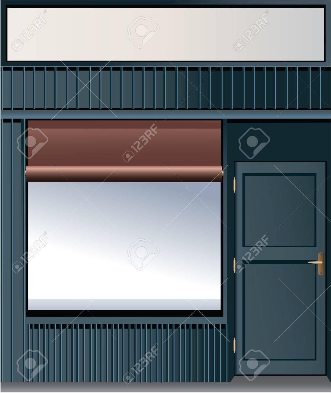 Shop window Stock Vector - 17694920