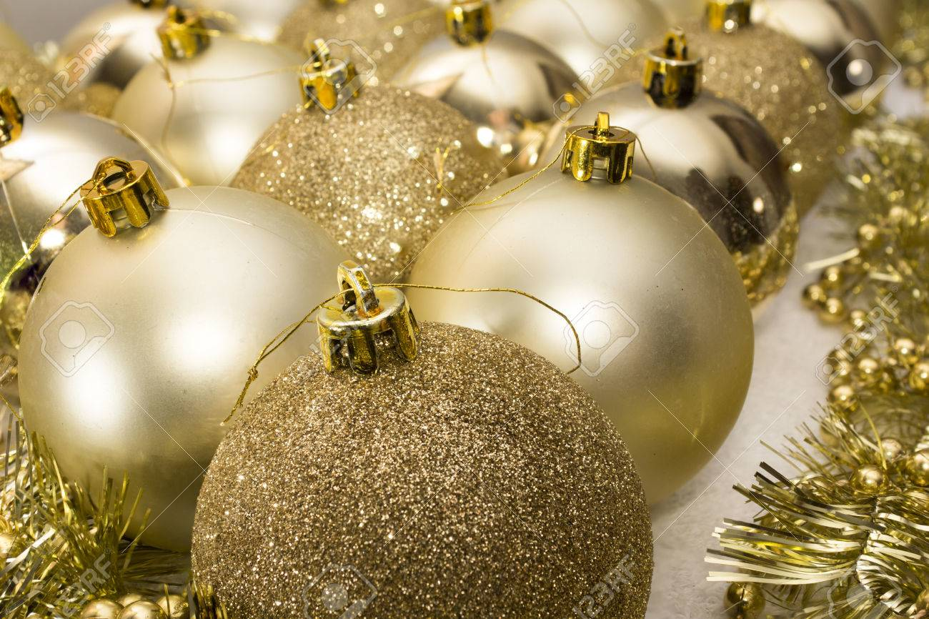 christmas tree baubles decoration. high resolution image. stock