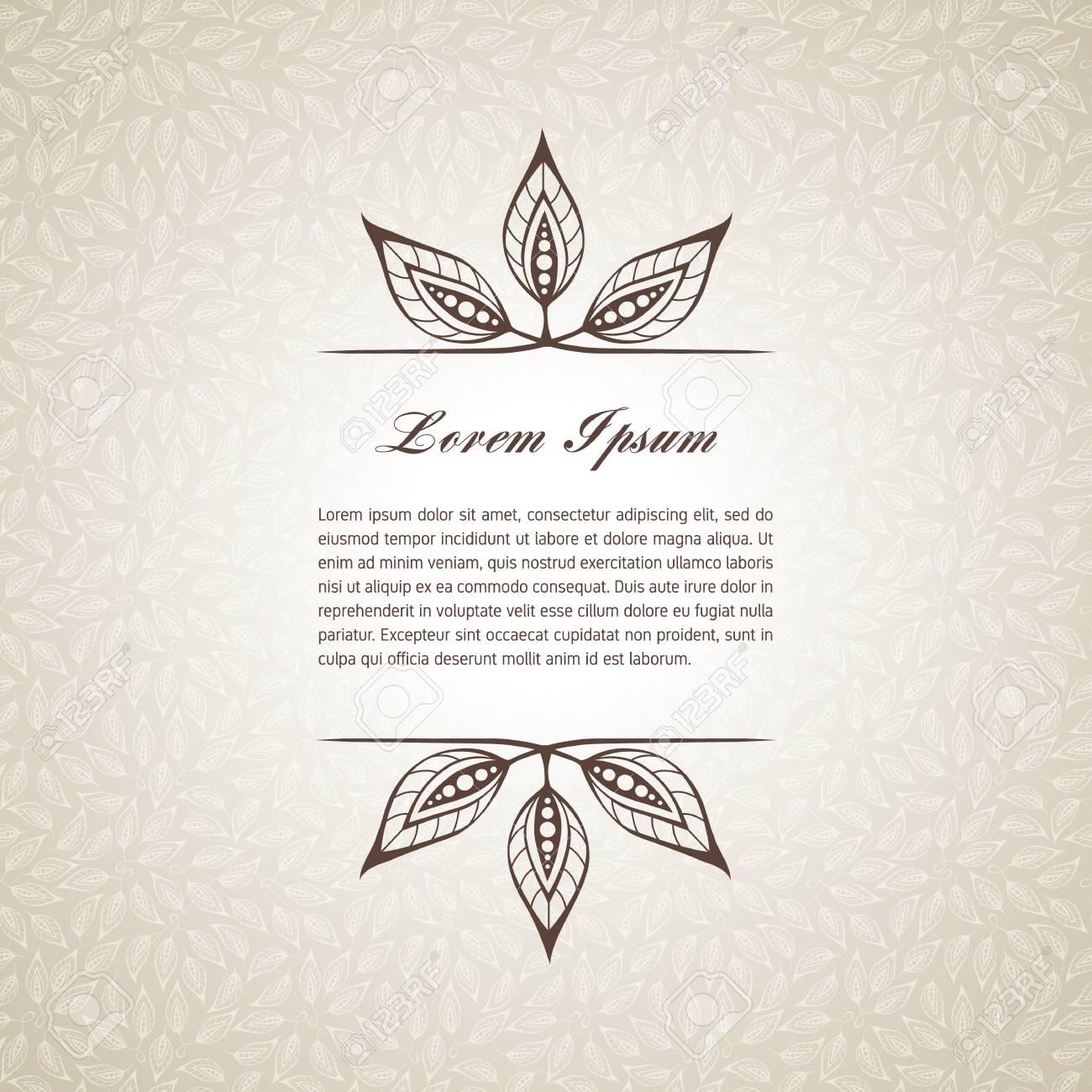 Plantilla Para Texto Corto, Tarjetas De Felicitación, Invitaciones ...