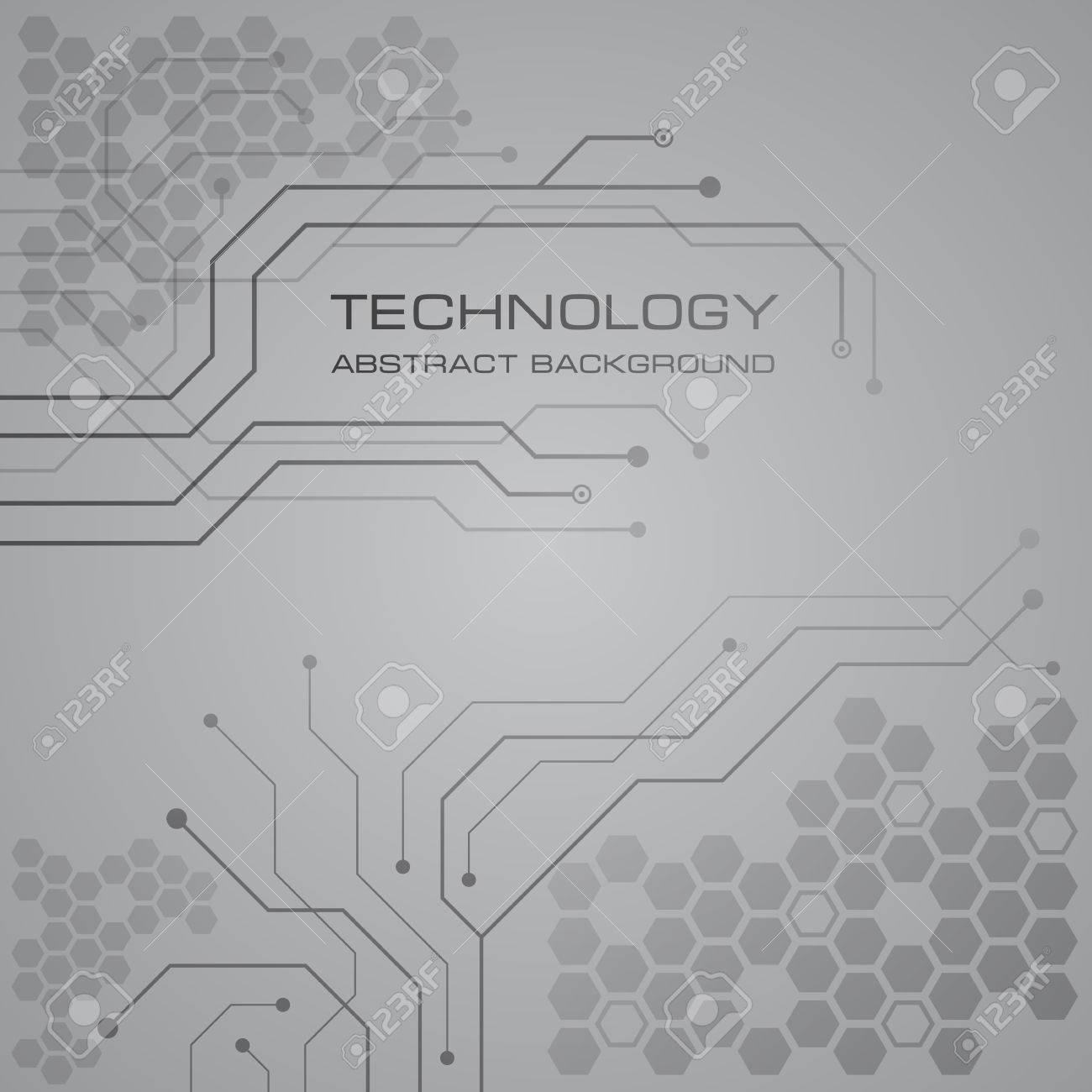 Printed Circuit Board Vector Background. Royalty Free Cliparts ...